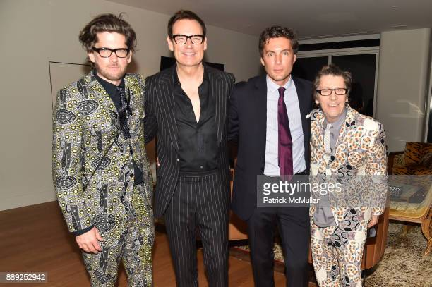 Paul Solberg Whitney SudlerSmith Fabian Basabe and Christopher Makos attend the Galerie Gmurzynska Dinner in Honor of Jean Pigozzi at the Penthouse...
