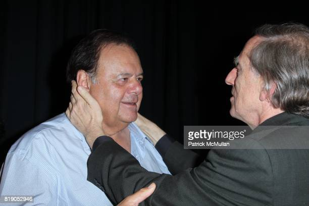 Paul Sorvino and Ariel Dorfman attend THE PUBLIC THEATRE Presents a OneNightOnly Benefit Reading of SPEAK TRUTH TO POWER Voice Beyond the Dark at The...
