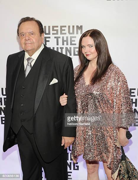 Paul Sorvino and Dee Dee Benkie attend Museum Of The Moving Image 30th Annual Salute honoring Warren Beatty at 583 Park Avenue on November 2 2016 in...