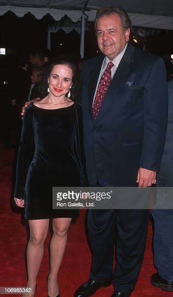 Paul Sorvino and guest during 'Metro' Hollywood Premiere January 15 1997 at Mann Chinese Theater in Hollywood California United States