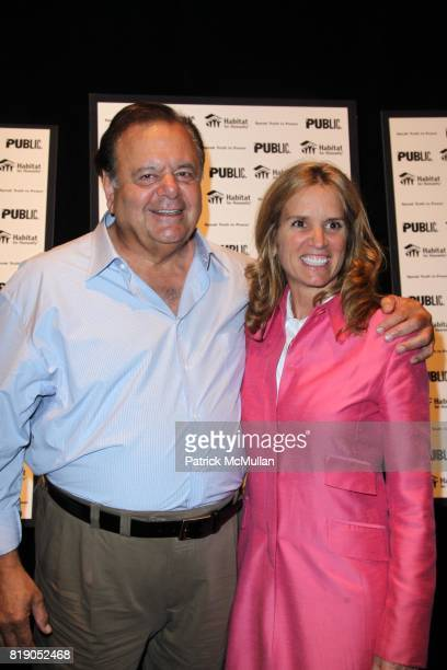 Paul Sorvino and Kerry Kennedy attend THE PUBLIC THEATRE Presents a OneNightOnly Benefit Reading of SPEAK TRUTH TO POWER Voice Beyond the Dark at The...