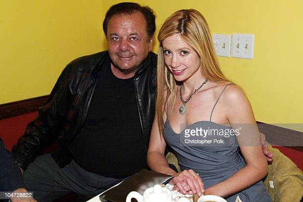 Paul Sorvino and Mira Sorvino during The 5th Annual Los Angeles Italian Film Awards presents 'Between Strangers' at Alto Palato in Hollywood...