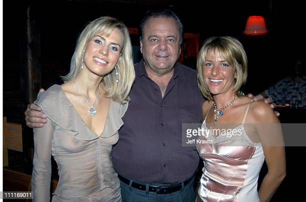 Paul Sorvino and Miss Universe during 2003 Toronto Film Festival 'Out of Time' Premiere Party at Bamboo in Toronto Ontario Canada