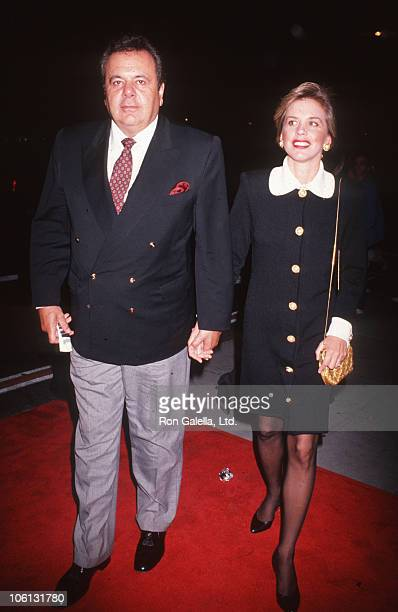 Paul Sorvino and Vanessa Sorvino during '29th Street' New York City Screening October 8 1991 at Festival Theater in New York City New York United...