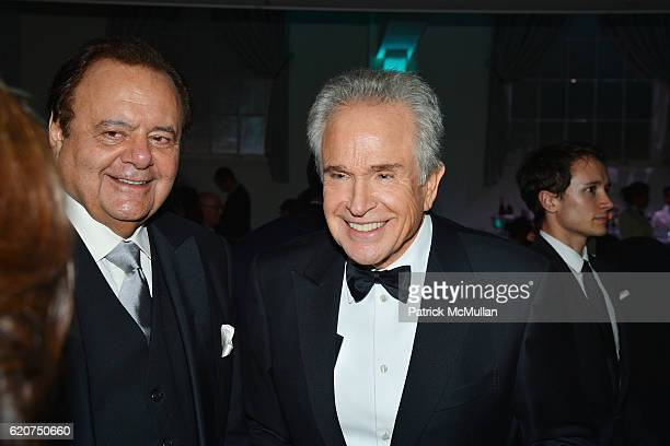 Paul Sorvino and Warren Beatty attend the Museum Of The Moving Image 30th Annual Salute Honoring Warren Beatty at 583 Park Avenue on November 2 2016...