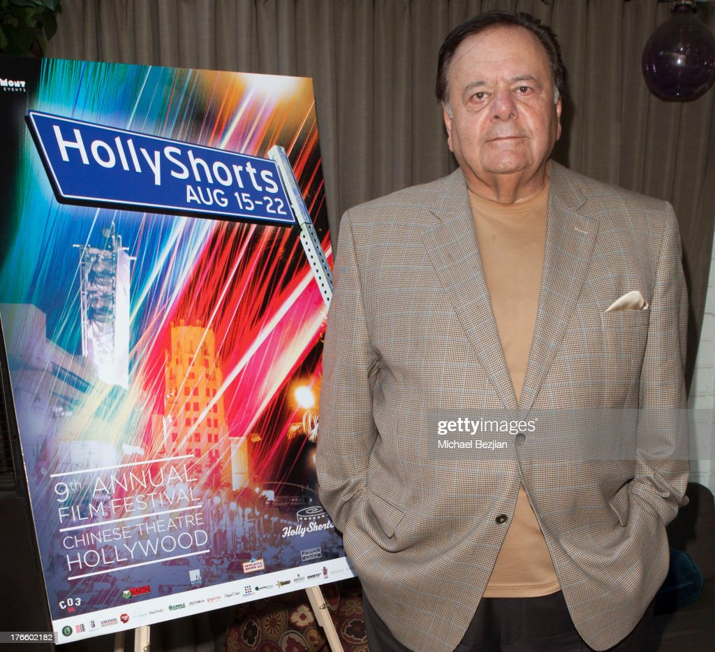 <a gi-track='captionPersonalityLinkClicked' href=/galleries/search?phrase=Paul+Sorvino&family=editorial&specificpeople=239131 ng-click='$event.stopPropagation()'>Paul Sorvino</a> attends 9th Annual HollyShorts Film Festival - Private Pre-Reception at Hollywood Roosevelt Hotel on August 15, 2013 in Hollywood, California.