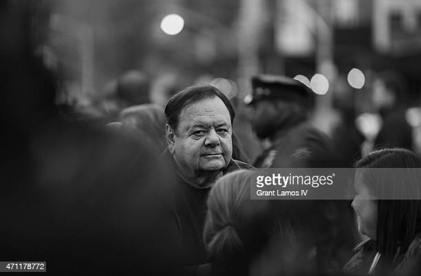 Paul Sorvino attends the closing night screening of 'Goodfellas' during the 2015 Tribeca Film Festival at Beacon Theatre on April 25 2015 in New York...