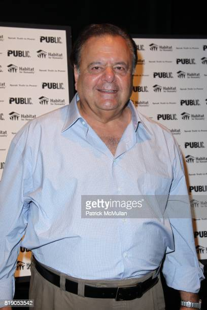 Paul Sorvino attends THE PUBLIC THEATRE Presents a OneNightOnly Benefit Reading of SPEAK TRUTH TO POWER Voice Beyond the Dark at The Public Theatre...