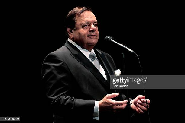Paul Sorvino sings a special night of opera at Saban Theatre on November 11 2011 in Beverly Hills California