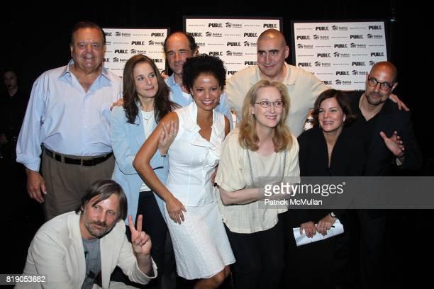 Paul Sorvino Viggo Mortensen Debra Winger Elias Koteas Gloria Reuben Meryl Streep Alfred Molina Marcia Gay Harden and Stanley Tucci attend THE PUBLIC...