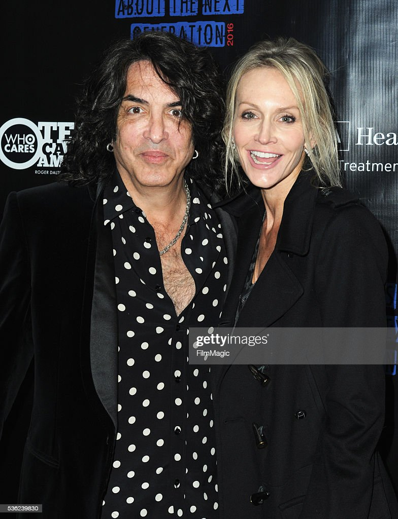 <a gi-track='captionPersonalityLinkClicked' href=/galleries/search?phrase=Paul+Stanley+-+Musician&family=editorial&specificpeople=11656968 ng-click='$event.stopPropagation()'>Paul Stanley</a> and Erin Sutton attend WHO Cares About The Next Generation at a private residence on May 31, 2016 in Pacific Palisades, California.