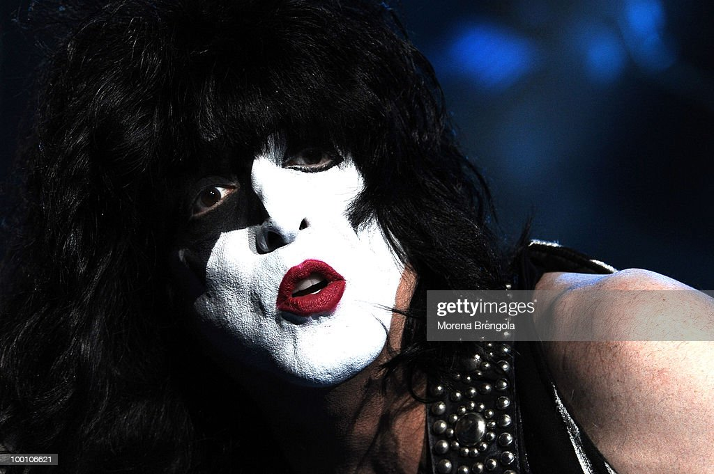 Paul Stanley of the Kiss performs at Mediolanum Forum on May 18, 2010 in Milan, Italy.
