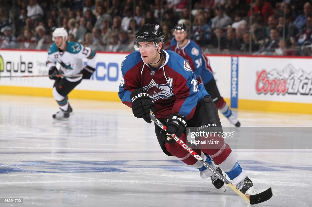 San Jose Sharks v Colorado Avalanche - Game Four
