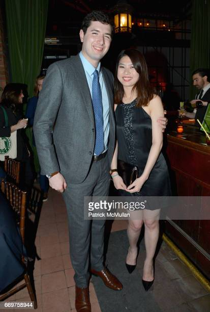 Paul Stephen and Diana Pham attend The Turtle Conservancy's 4th Annual Turtle Ball at The Bowery Hotel on April 17 2017 in New York City