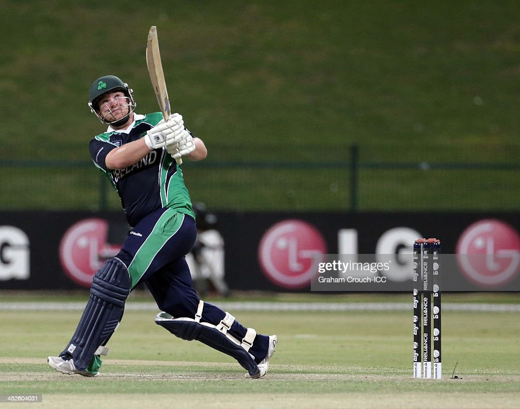 ICC World Twenty20 Qualifier - Final - Ireland v Afghanistan : News Photo