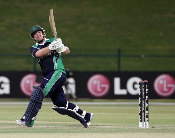 ICC World Twenty20 Qualifier - Final - Ireland v Afghanistan : News Photo