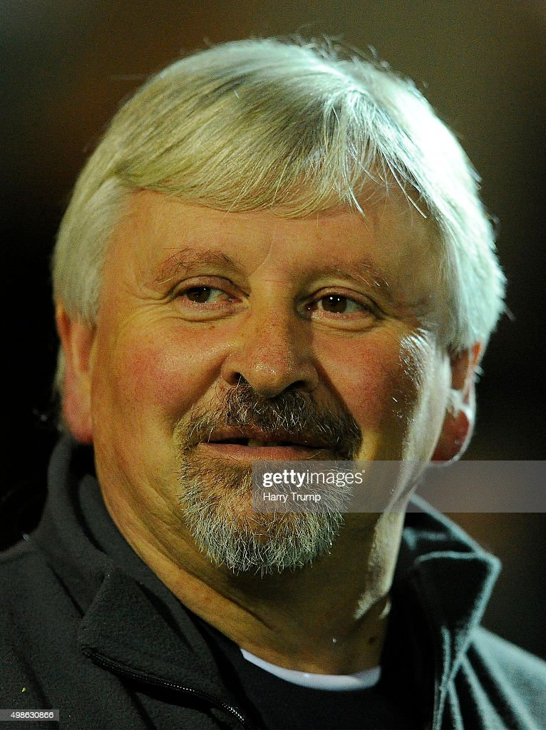 Paul Sturrock Manager of Yeovil Town during the Sky Bet League Two match between Yeovil Town and Wycombe Wanderers at Huish Park on November 24 2015...