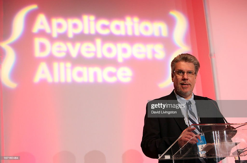 Paul Sweeting, Founder, Concurrent Media Strategies, attends Variety's Entertainment Apps Conference in Association with Application Developers Alliance at Sheraton Hotel on November 29, 2012 in Universal City, California.
