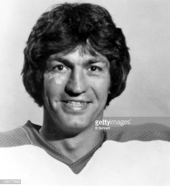 Paul Terbenche of the Winnipeg Jets poses for a portrait in September 1978 in Winnipeg Manitoba Canada
