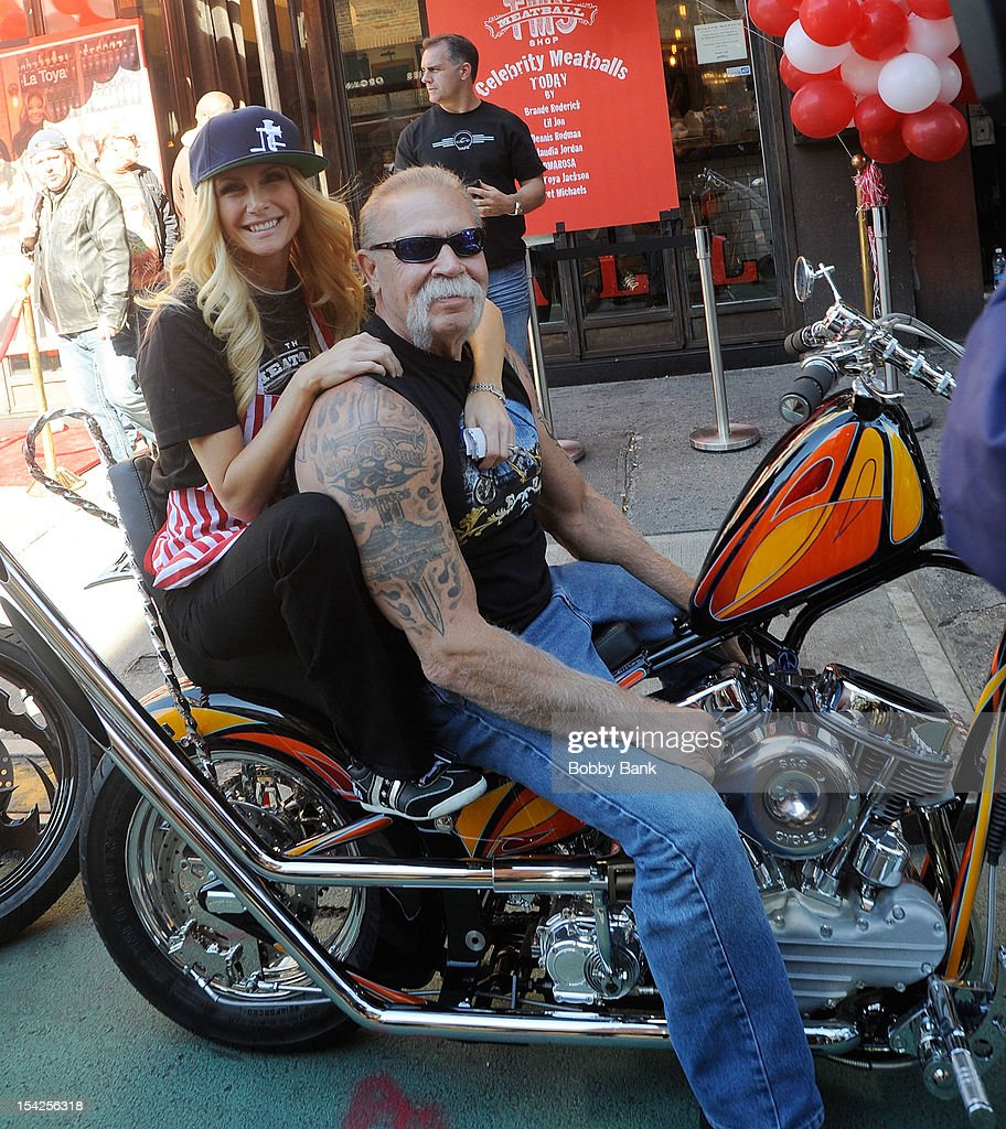 <a gi-track='captionPersonalityLinkClicked' href=/galleries/search?phrase=Paul+Teutul+Sr.&family=editorial&specificpeople=242944 ng-click='$event.stopPropagation()'>Paul Teutul Sr.</a>; and <a gi-track='captionPersonalityLinkClicked' href=/galleries/search?phrase=Brande+Roderick&family=editorial&specificpeople=213990 ng-click='$event.stopPropagation()'>Brande Roderick</a> filming on location for 'Celebrity Apprentice All Stars' on October 16, 2012 in New York City.