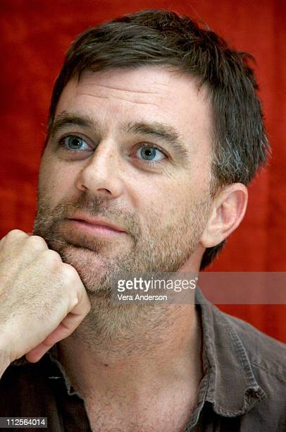 Paul Thomas Anderson at the 'There Will Be Blood' press conference at the Four Seasons Hotel in Beverly Hills California on November 13 2007