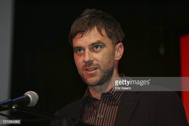 Paul Thomas Anderson during 21st Annual Santa Barbara International Film Festival The Riviera Award Honoring Philip Seymour Hoffman Arrivals and...