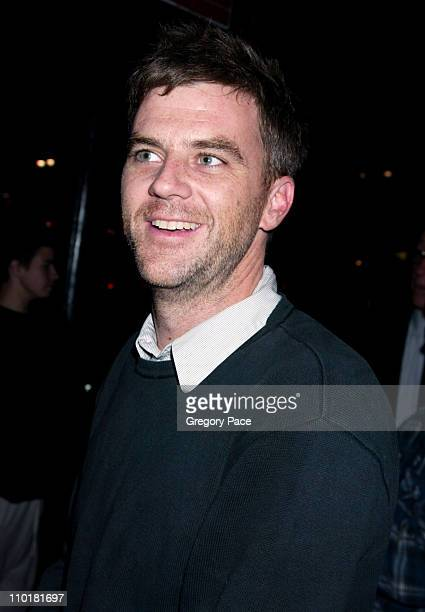 Paul Thomas Anderson during 'Saturday Night Live' After Party Arrivals at Tuscan Steak Restauramt in New York City New York United States