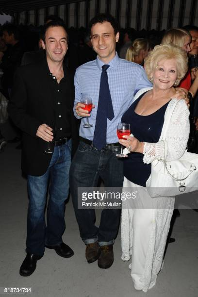 Paul Tirone Evan Richards and Diana Darrin attend Bret Easton Ellis to celebrate the publication of his new novel IMPERIAL BEDROOMS at Penthouse on...
