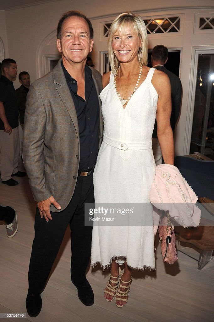 Paul Tudor and Sonia Jones attend Apollo in the Hamptons at The Creeks on August 16, 2014 in East Hampton, New York.