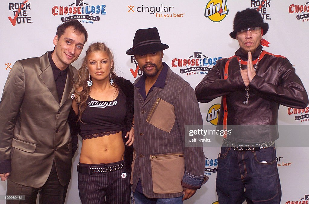 Paul Van Dyk and Black Eyed Peas during The 11th Annual Rock the Vote Awards Show and After Party at The Palladium in Hollywood California United...