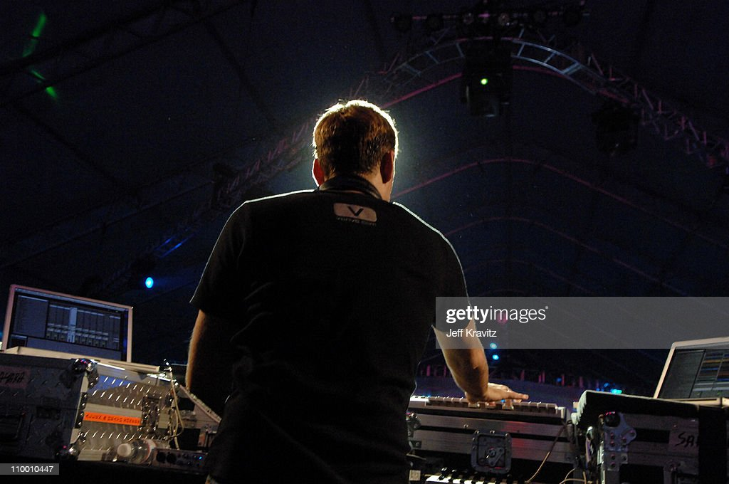 Paul van Dyk during Coachella Valley Music and Arts Festival Day 3 Paul van Dyk at Empire Polo Field in Indio California United States