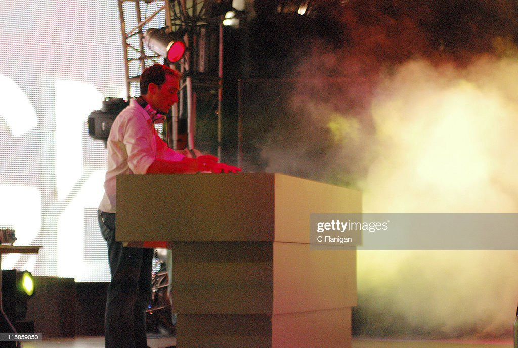 Paul Van Dyk during Ultra Music Festival 2005 at Bayfront Park in Miami Florida United States