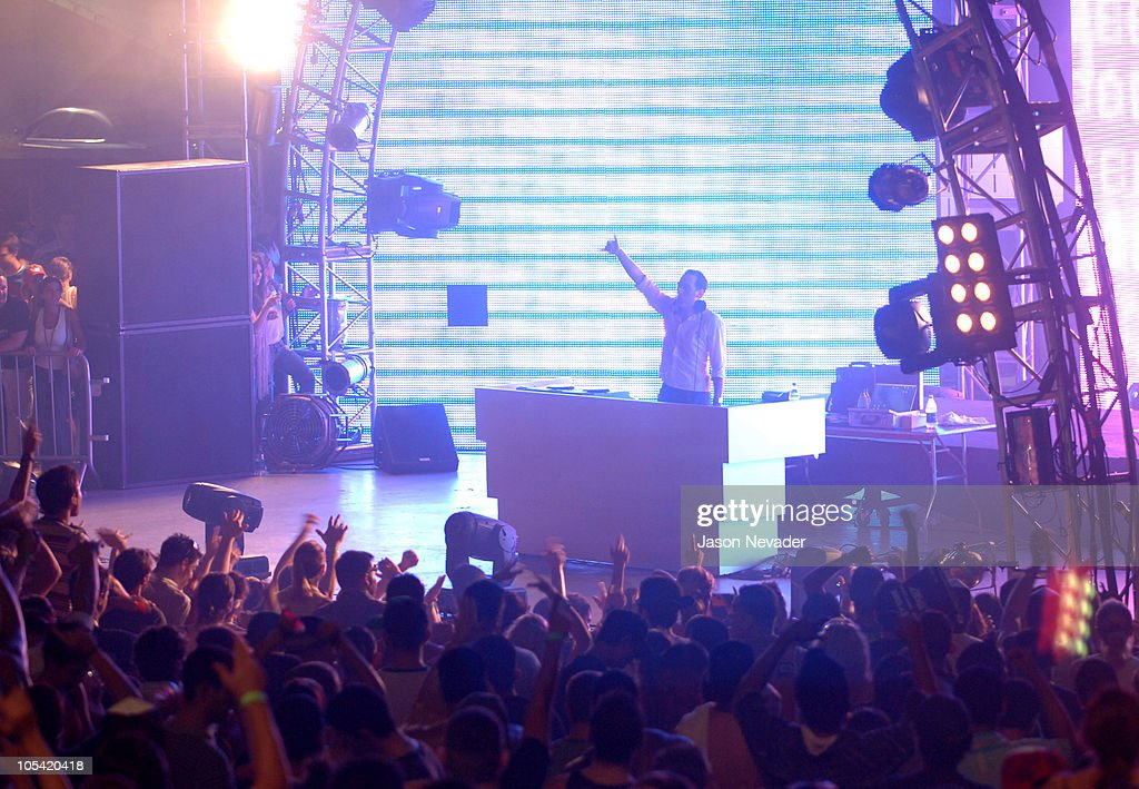 DJ Paul van Dyk during Ultra Music Festival 7 at Bayfront Park in Miami Florida United States