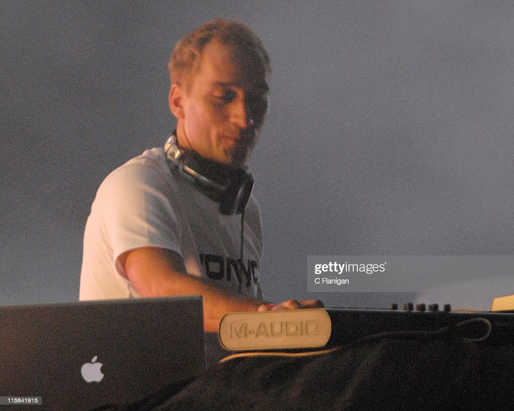 Paul Van Dyk during Winter Music Conference 2007 Ultra Music Festival 9 Day 2 at Bicentennial Park in Miami FL United States