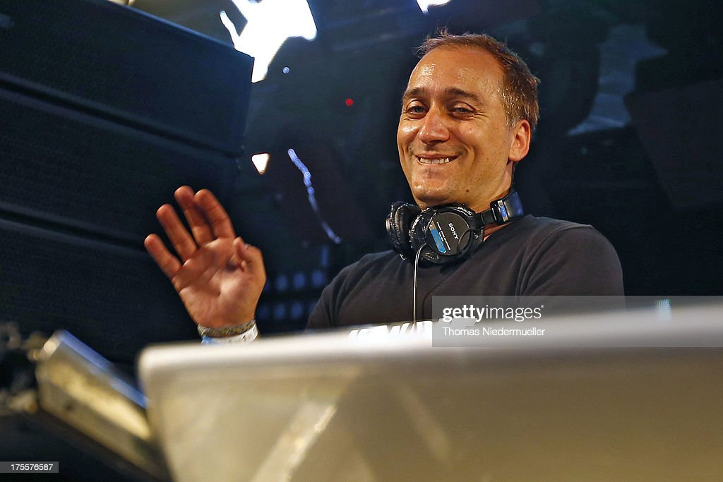 Paul van Dyk performs at the 'Nature One' massive rave, held at the former US rocket base Pydna on August 3, 2013 in Kastellaun, Germany.