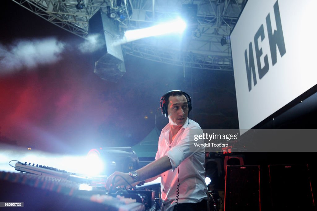 Paul Van Dyk performs in Central Park on August 29 2009 in New York City