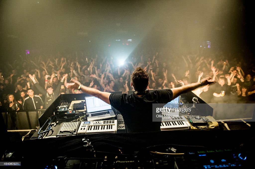 Paul Van Dyk performs on stage at Leeds O2 Academy on December 6 2013 in Leeds United Kingdom