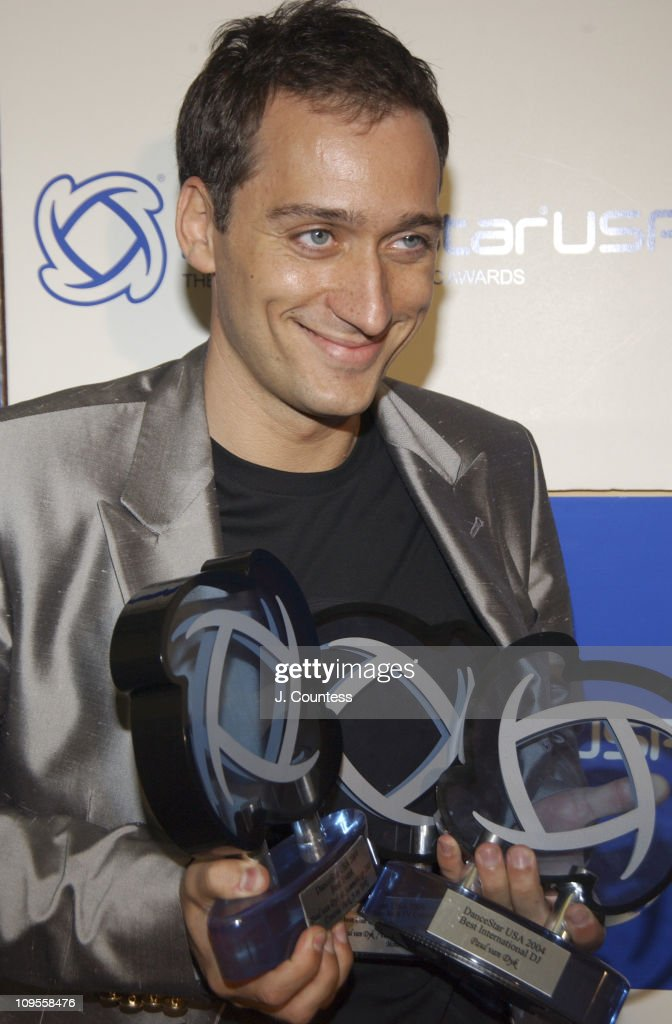 Paul Van Dyk winner Best International DJ Best Use of Music in a TV Commerical and Best Event