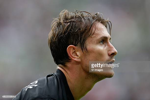 Paul Verhaegh of FC Augsburg during the Telekom Cup friendly match between Bayern Munich and FC Augsburg on July 12 2015 at the Borussia Park stadium...