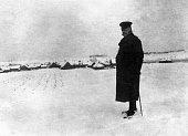Paul von Hindenburg German field marshal and statesman 2nd President of Gemany 192534 Field Marshal Hindenburg in Kovno Russia Photo Kuehlewindt 1915