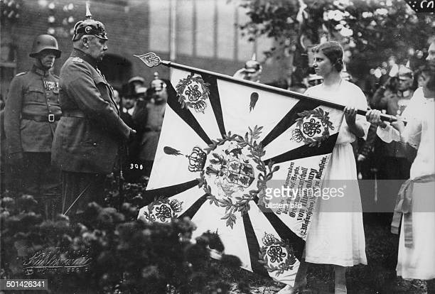 Paul von Hindenburg German field marshal and statesman 2nd President of Gemany 192534 Hindenburg travelling East Prussia in 1924 consecration of the...