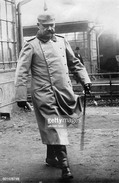 Paul von Hindenburg German field marshal and statesman 2nd President of Gemany 192534 Portrait as General Field Marshal in World War I Photo...