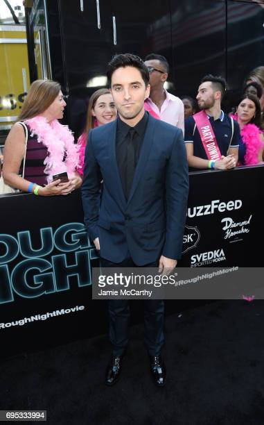 Paul W Downs attends New York Premiere of Sony's ROUGH NIGHT presented by SVEDKA Vodka at AMC Lincoln Square Theater on June 12 2017 in New York City