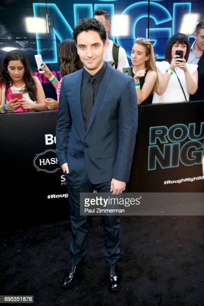 Paul W Downs attends the 'Rough Night' New York Premiere on June 12 2017 in New York City
