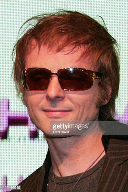 Paul WaaktaarSavoy of AHa during AHa InStore Performance and Album Signing for 'Analogue ' at HMV in London January 30 2006 at HMV Oxford Street in...