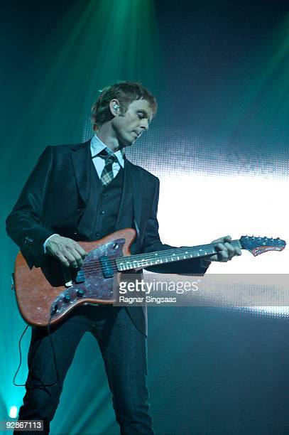Paul WaaktaarSavoy of aHa performs at the Oslo Spektrum on November 6 2009 in Oslo Norway