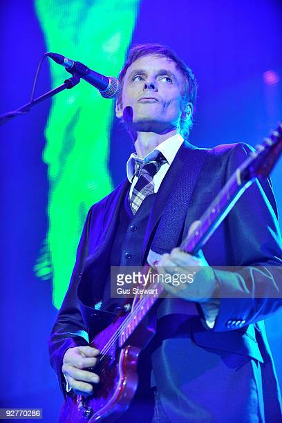 Paul WaaktaarSavoy of aha performs on stage at O2 Arena on November 4 2009 in London England