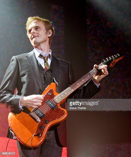 Paul WaaktaarSavoy of aha performs on stage at the NIA Arena on November 2 2009 in Birmingham England