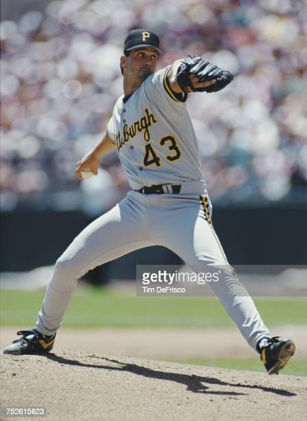 Paul Wagner pitcher for the Pittsburgh Pirates throws a pitch during the Major League Baseball National League West game against the Colorado Rockies...