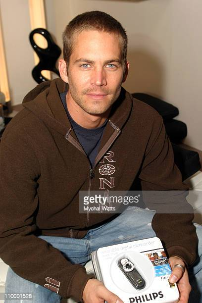 Paul Walker at Philips during 2005 Park City Philips at Village at the Lift at Village at the Lift in Park City Utah United States